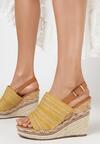 Żółte Sandały Aelena