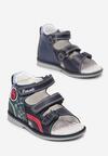 Granatowe Sandały Parrianne