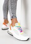Biało-Żółte Sneakersy Rainbow Dream