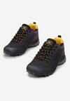 Czarno-Żółte Buty Sportowe Sireirea