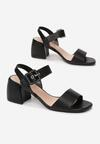 Czarne Sandały Nedamis