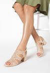 Beżowe Sandały Iphagina
