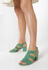 Miętowe Sandały Iphagina