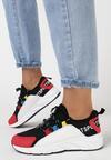 Czarne Sneakersy Olegonia