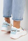 Biało-Różowe Sneakersy Olegonia