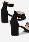 Czarne Sandały Larairinia
