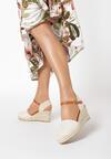 Beżowe Sandały Coraenelle