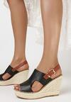 Czarne Sandały Limopheu