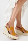 Żółte Sandały Limopheu