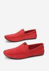 Czerwone Mokasyny Delolis