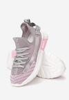 Różowe Buty Sportowe Naithea