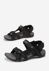 Czarne Sandały Aerefa