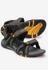 Czarne Sandały Pherodoe