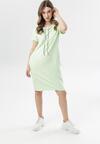 Limonkowa Sukienka Sheireida