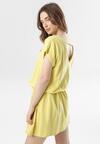 Jasnożółta Sukienka Laraisura