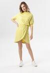 Jasnożółta Sukienka Phianele