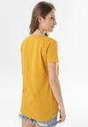 Żółty T-shirt Assathea