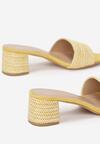 Żółte Klapki Amalei