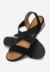 Czarne Sandały Eireve