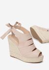 Beżowe Sandały Mayenne