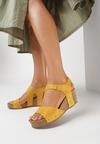 Żółte Sandały Eirely