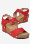 Czerwone Sandały Eirely