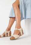 Beżowe Sandały Eirely