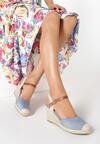 Niebieskie Sandały Laodanea