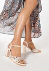 Różowe Sandały Petomeni