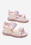 Różowe Sandały Kimomea