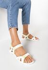 Białe Sandały Echodone