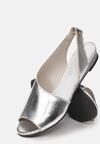 Srebrne Sandały Corariel