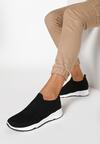 Czarne Sneakersy Haireino