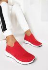 Czerwone Sneakersy Haireino