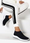 Granatowe Sneakersy Oleles