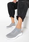 Szare Sneakersy Oleles
