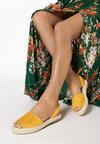Żółte Espadryle Maxera
