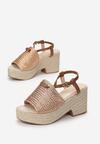 Szampańskie Sandały Yawen