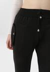 Czarne Spodnie Dresowe Marilori