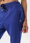 Ciemnoniebieskie Spodnie Dresowe Marilori