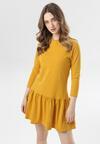 Żółta Sukienka Adrienella