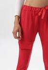 Czerwone Spodnie Dresowe Aelle
