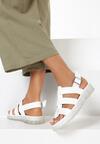 Białe Sandały Aeridina
