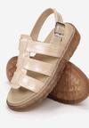 Beżowe Sandały Aeridina