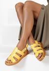 Żółte Sandały Aeridina