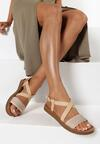 Beżowe Sandały Dalisea