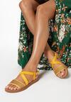 Żółte Sandały Dalisea
