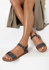 Granatowe Sandały Daphirei