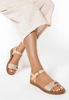 Beżowe Sandały Daphirei