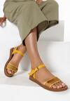 Żółte Sandały Daphirei